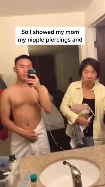 当一位台湾母亲发现儿子有乳钉后……
