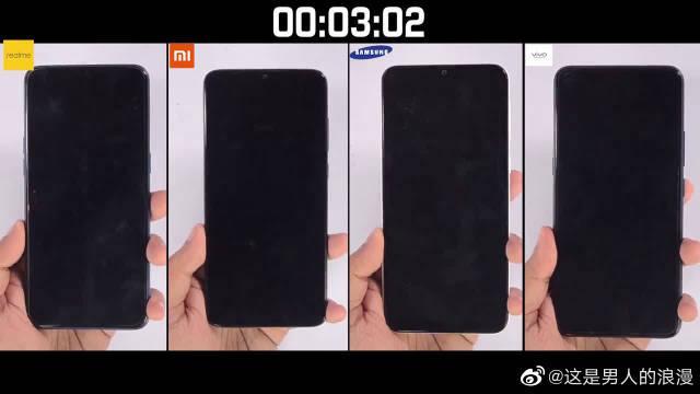 红米Note 8 Pro、三星M30s、VivoZ1 Pro速度对比