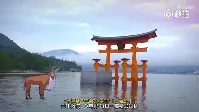 当宫崎骏的动画走进现实世界,简直美得令人窒息!