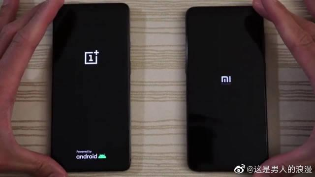 一加OnePlus 7T vs 小米 9软件启动速度对比