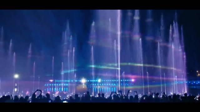 沈阳 音乐喷泉 清凉夏夜
