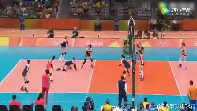 里约奥运会上中国女排十二位姑娘……