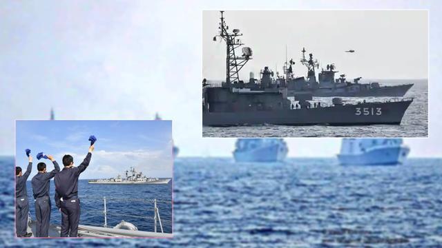 印度成功拉上日本:两国印度洋大演习开始,印军叫嚣称霸占印度洋