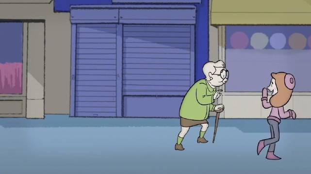YouTube百万点赞小动画《人行道》 导演以一段街边的散步……