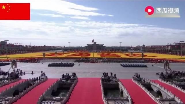 最强女兵徒步方队,惊艳四方!