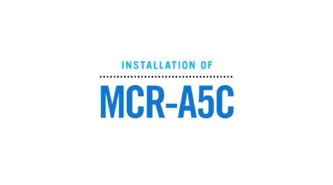 全程:在车间安装部署一台大隈龙门式高速五面体加工中心MCR-A5C