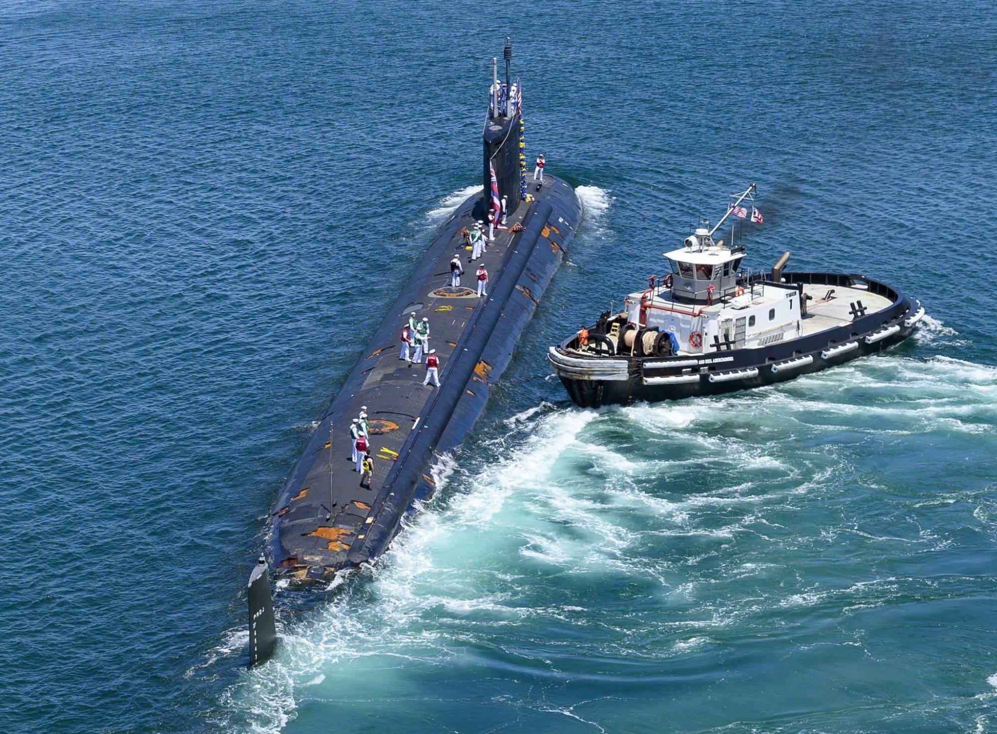 美核潜艇遭遇严峻问题!美国人:中国表现让人敬畏,新技术被证实