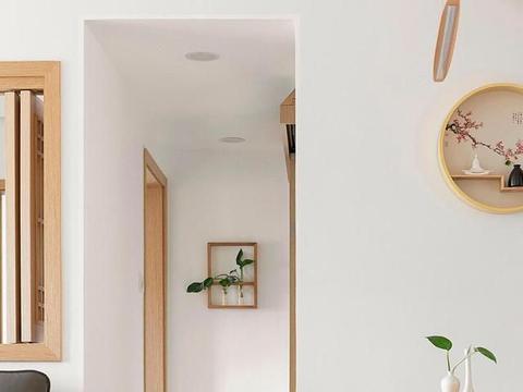 69大叔的79㎡养老公寓,以日式为风,阳台花园叫人惊艳