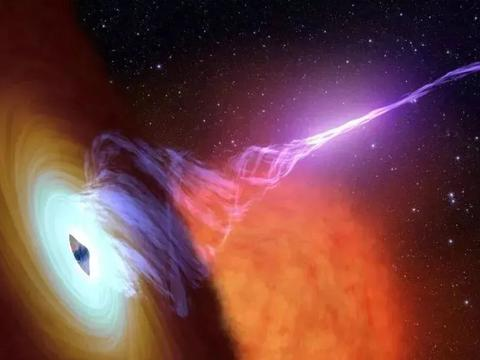 发现100亿光年外,黑洞喷流磁场快速变化,产生了伽马射线!