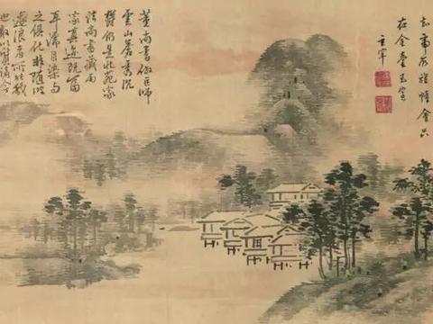 """中国书画的""""标尺""""——董其昌"""