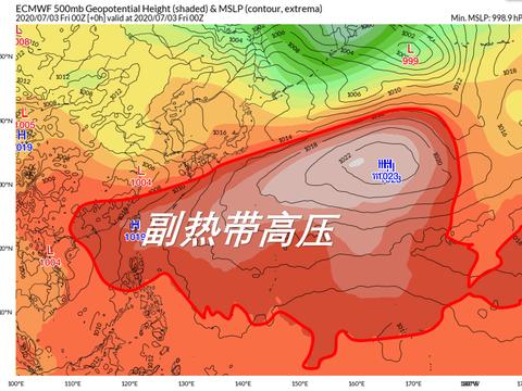 南方人准备好:3号台风继续难产,高温还要扩大加强!