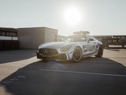 F1大奖赛终于要来了!赛车见不到咱先看看AMG GT R安全车