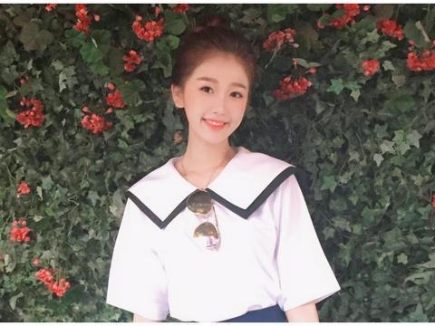 """""""旺旺""""女孩原来是虞书欣,90后还记得吗?齐刘海撞脸奶茶妹妹"""