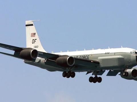 美军侦察机抵近黑海边境,苏27急升空, 美俄空中对峙再升温
