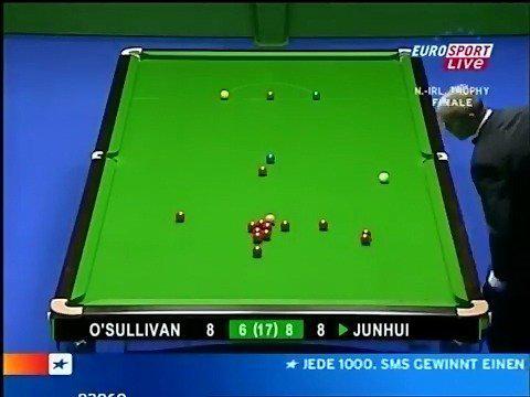 2006年北爱尔兰杯,丁俊晖战胜奥沙利文