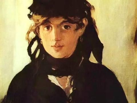 马奈油画中的女模特,也是法国最出色的印象派女画家——莫里索
