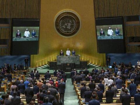 联合国上激烈交锋,美提案令俄十分不满,俄代表愤怒抗议