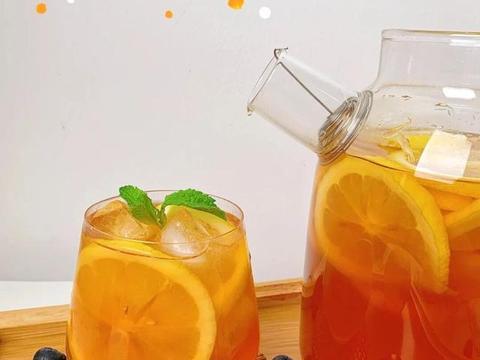 在家自制港式冻柠茶,不用去茶餐厅也能喝到,这个夏天就靠它了
