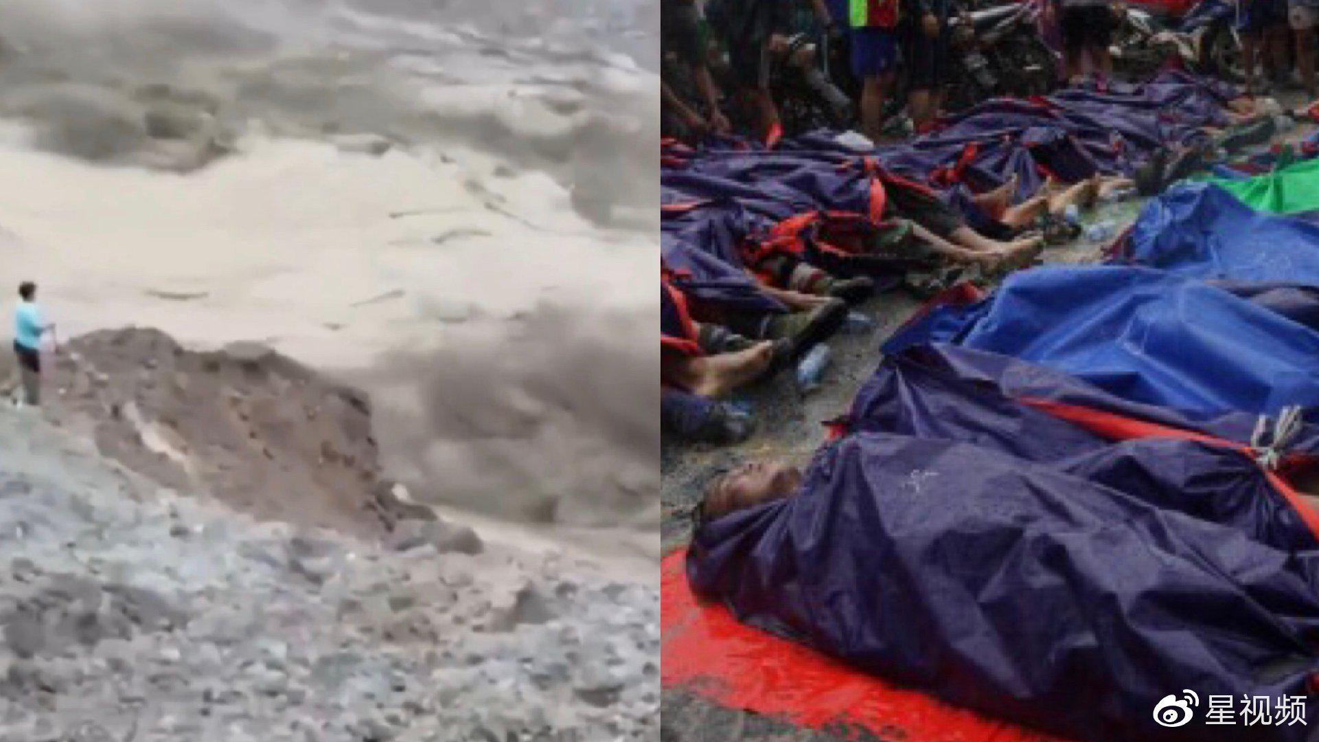 恐怖!暴雨导致年产70亿富饶矿区山体滑坡 已有百名矿工遇难