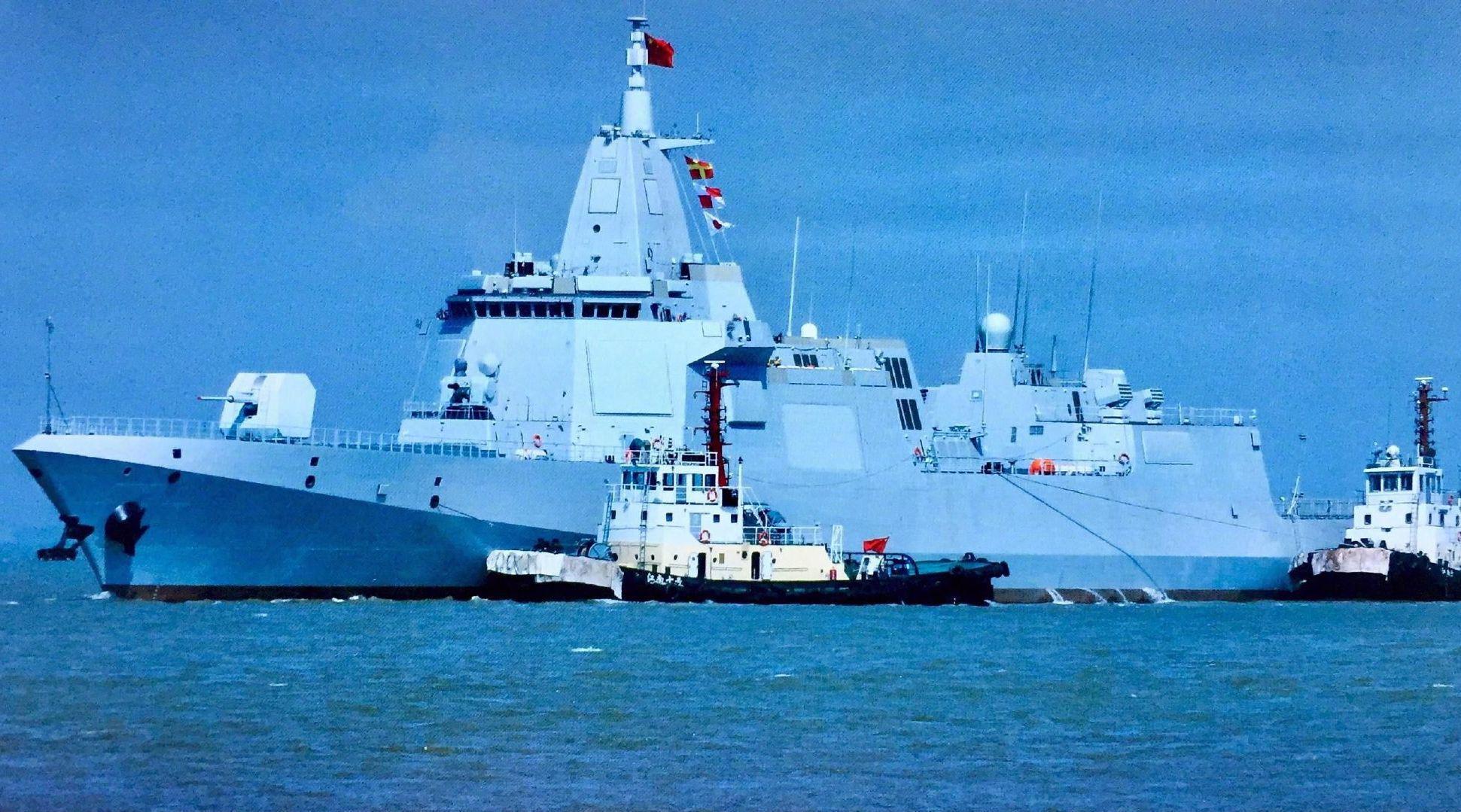 集大成者,055为何是中国海军走向远洋标准?500公里