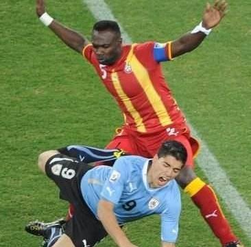 还记得南非世界杯的门线手球吗?前加纳国脚:我永不原谅苏亚雷斯