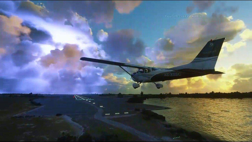 《微软飞行模拟》Alpha测试版实机片段
