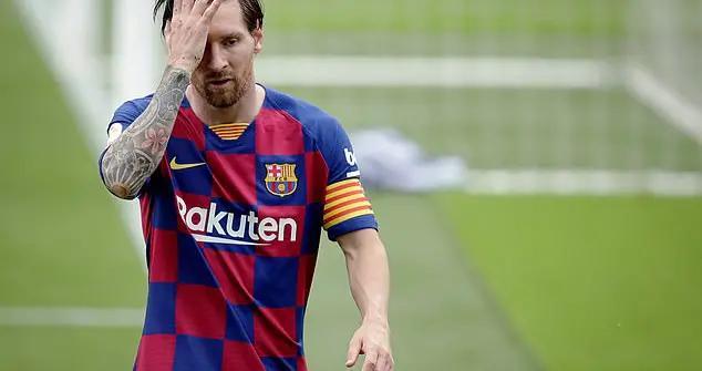 梅西合同到期后离开巴萨?与教练管理层矛盾加深,将回阿根廷联赛