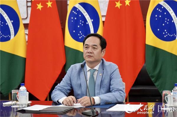 中国政府首批援巴抗疫物资交接仪式在巴西利亚举行