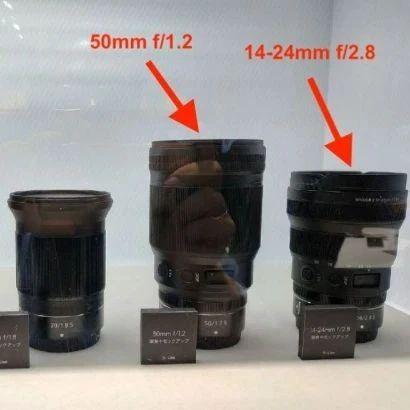 尼康将发布50/1.2等三款Z卡口镜头