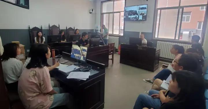 蓝田法院为书记员进行庭审直播业务技术培训