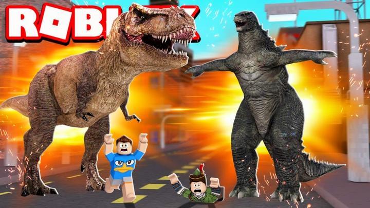 Roblox哥斯拉模拟器:哥斯拉怪兽大战!超多电影怪兽?小格解说