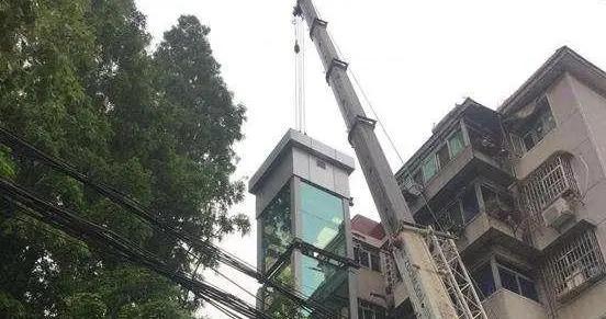 合肥市蜀山区:电梯取代楼梯,上下楼不再难
