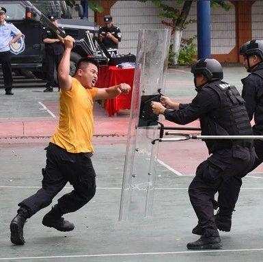 """玉林两名""""歹徒""""持械冲进校园闹事,结果两人被……"""