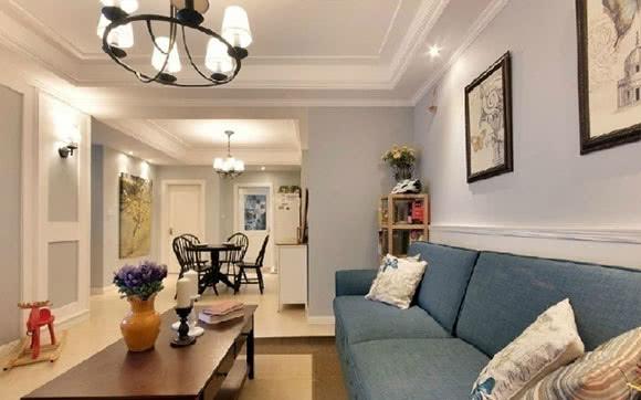 小户型不能选择美式风格?轻美式风格空间,装修设计轻快很温馨