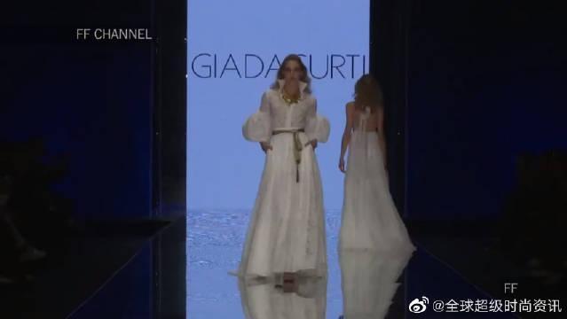 时尚T台秀:2020米兰时装周Giada Curti全新时装秀超模走秀第二部