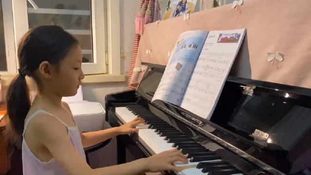 《菲伯尔钢琴教程》选曲《开往伦敦的火车》……