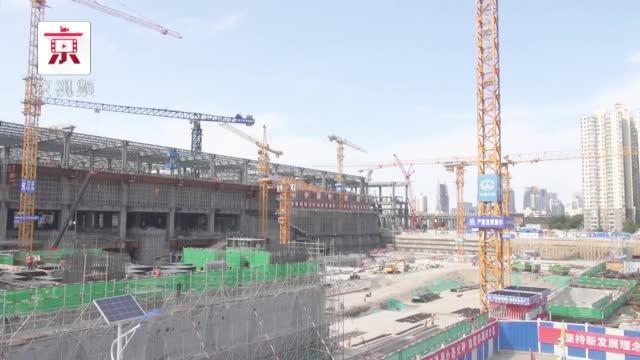新进展!北京地铁16号线丰台站主体结构封顶!
