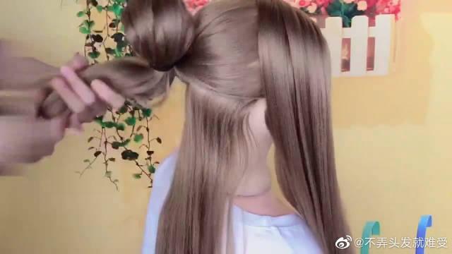 关晓彤同款发型,编发教学视频来啦,赶快学习一下吧!