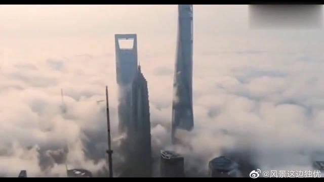 上海中心大厦,632米的超级工程,展示了中国建筑工程的强大!