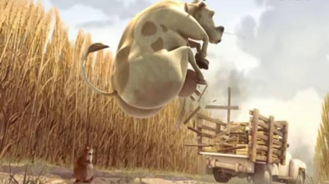 奥斯卡最佳搞笑短片《倒霉的地鼠》 .