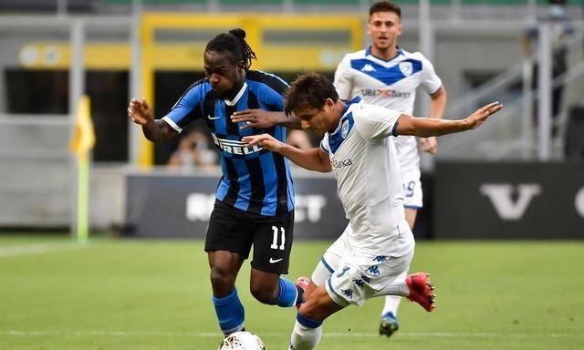 #意甲#2019-2020赛季意甲联赛第三十轮国际米兰vs博洛尼亚的足球比赛