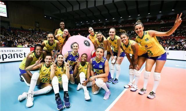 巴西女排今年取消集训,日本女排笑了,中美意赛都受益