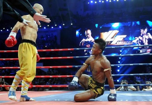 武僧一龙告诫同行:一个个别光知道挑战拳脚,能做点好事吗