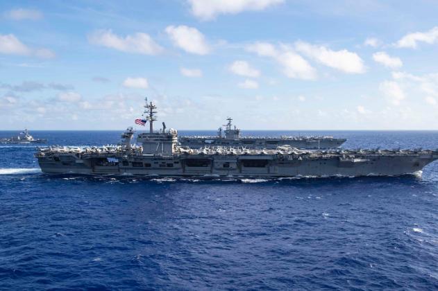 疫情卷土重来?罗斯福号舰员突然死亡,刚参加菲律宾海双航母演习