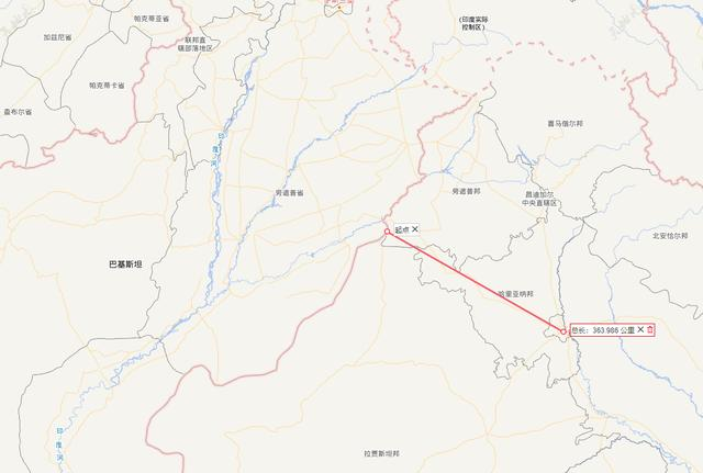 印度别忘了,7朝古都新德里距离边境线不到400公里