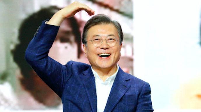 韩国总统文在寅倡导民众消费爱国:请大家买买买!