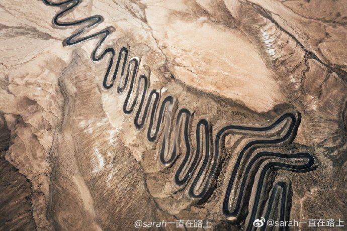 盘龙古道丨又名蟠龙古道,位于帕米尔高原之上……