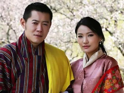 老照片还原不丹王后吉增·佩玛的真实容貌,不得不承认她的很美