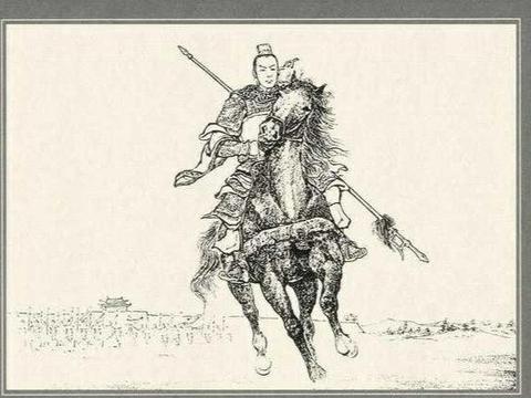 吕布曾独战许褚六将逃得性命,如果换成赵云,他是否能逃出生天?