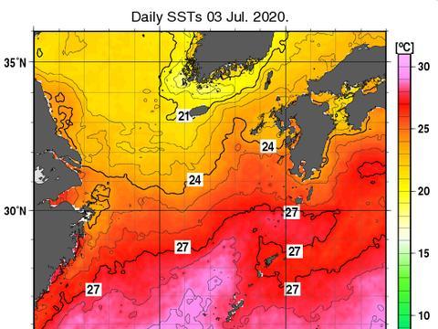 警惕!太平洋海水已发烫,东海29度!分析:理论上可支持超强台风